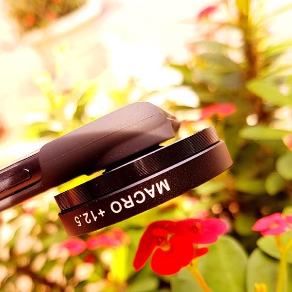 OEM Customized iPhone 8 / iPhone 8 Plus SLR 37mm Macro Lens Photography Set