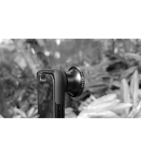 Full Frame Fisheye Lens (FX Fisheye Lens) for iPhone 8 Plus / iPhone 8