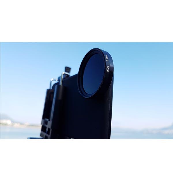 OEM Customized iPhone 8 / iPhone 8 Plus SLR 37mm NDx8 Filter Lens Photography Set