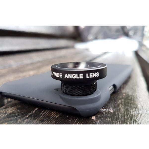 Super Wide Angle Lens for Apple iPhone 8 / Apple iPhone 8 Plus (0.39X Wide)