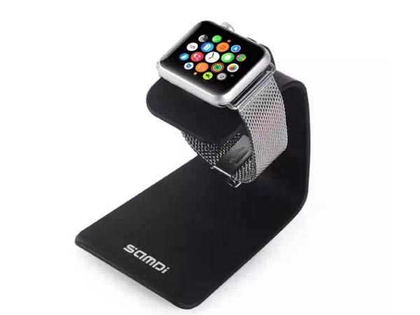 2-in-1 iWatch (Apple Watch) Dock & iPhone / iPod / Smartphone Stand