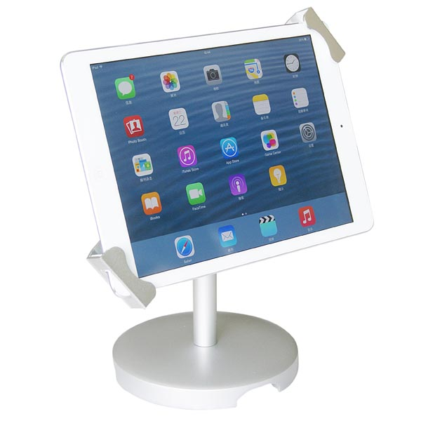 Universal Desktop Anti-Theft POS Stand Holder Enclosure w/ Lock & Key for for Samsung Galaxy Tablet