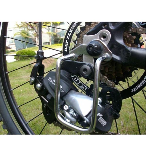 Bike Aluminum Derailleur / Bicycle Chain Stay, Chain Guard, Gear Protector