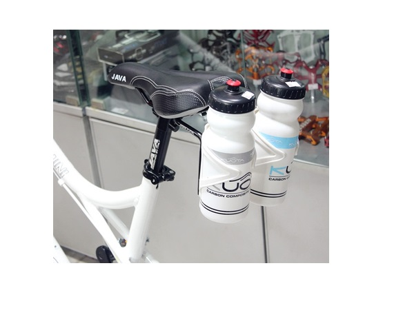Bike / Bicycle / Cycling Back Seat Double Rack Water Bottle / Cage Holder / Frame / Hanger