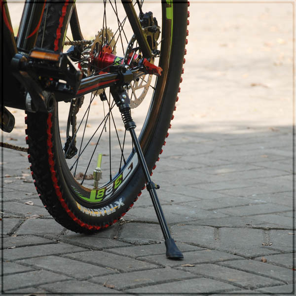 Alloy-Made Rear Mount Road Bike / MTB / Mountain Bike / Bicycle Side Stand