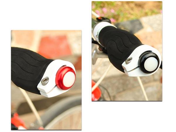 Bicycle / Bike Handle Bar End LED / Plug Indicator Light / Flashlight for Warning / Safety / Signal
