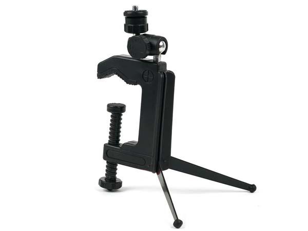 Desk, Table / Pipe, Tube C-Clamp Tripod for Cameras & Camcorders / DVs / DVRs