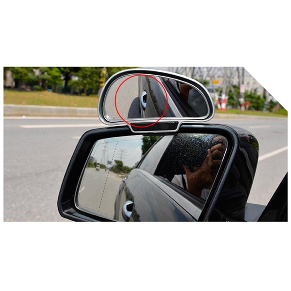 Car Rearview Blind Spot Eliminating Mirror