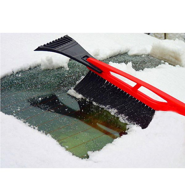 Car Snow Brush & Ice Scraper Combo / Auto Broom Shovel Tool for Car / Truck / SUV Windshield