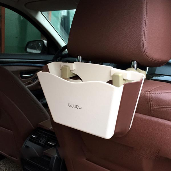 Universal Traveling Foldable Car Trash Can / Car Door Accessory Storage Box / Smartphones