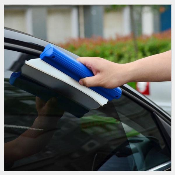 Silicone Car Window Cleaning Brush / Glass wiper / Squeegee Drying Blade