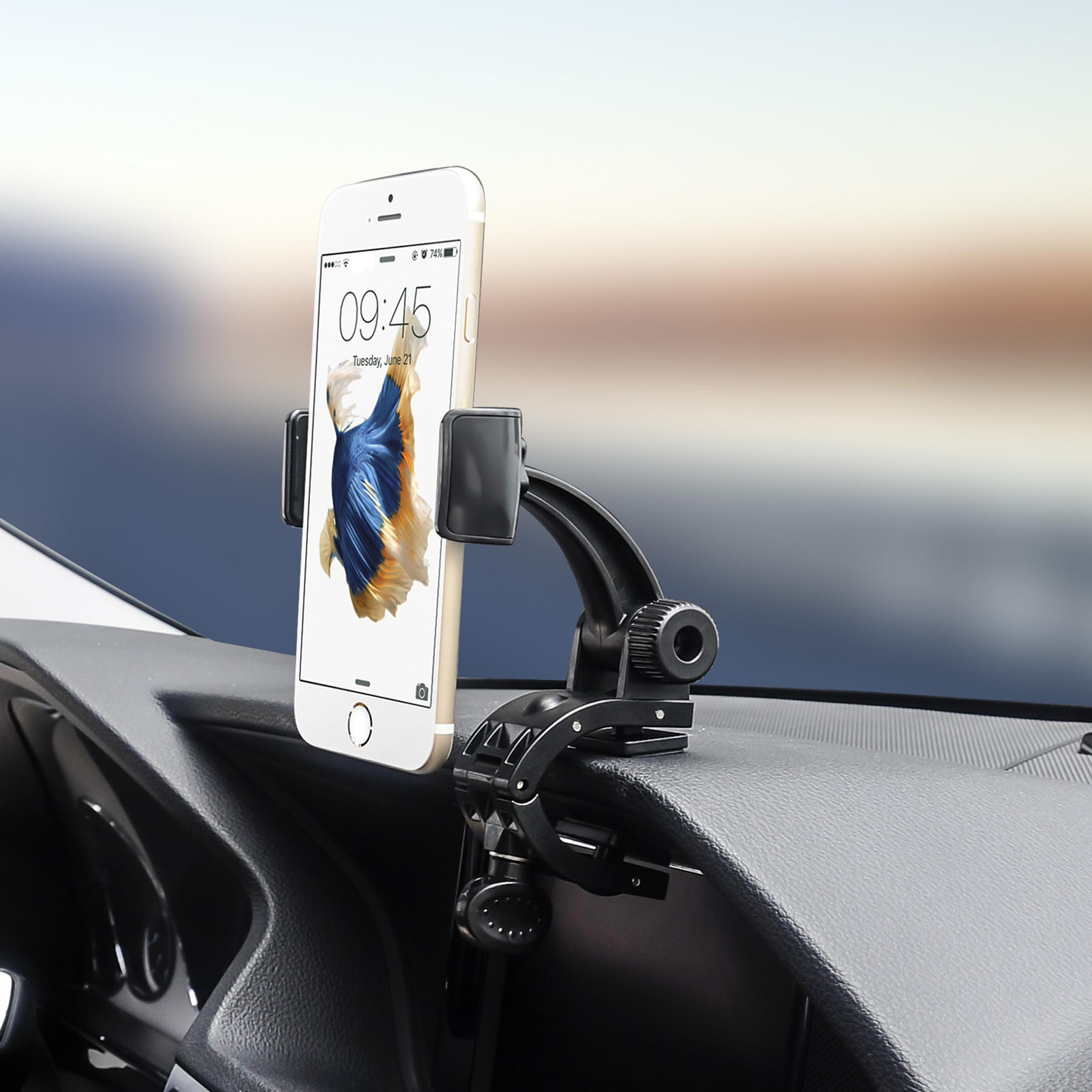Universal Alligator Clip Dashboard Mount for iPhone / Samsung / Sony / LG / HTC Smartphones