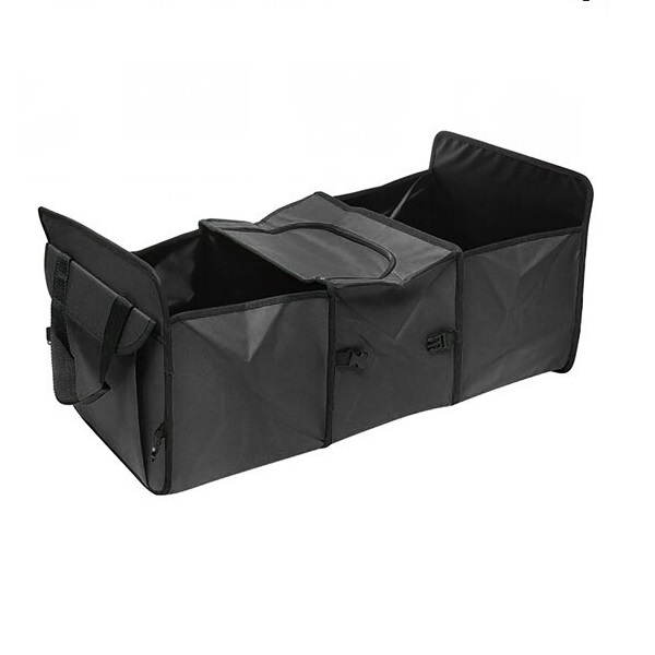 Collapsible Car Trunk Organizer with Thermos Pack for Drink / Coke / Water