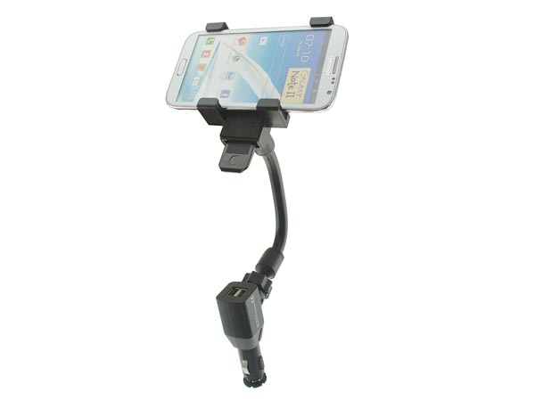 Auto / Car Cigarette Socket Mount for Galaxy Note / iPhone 8 Plus / Sony Xperia Z Ultra / Phablets