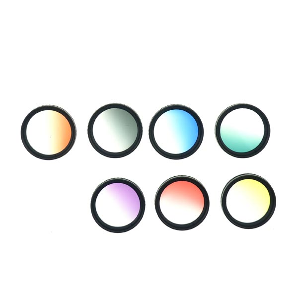 37mm Graduated Color Filter Lens Set (8 Pieces)