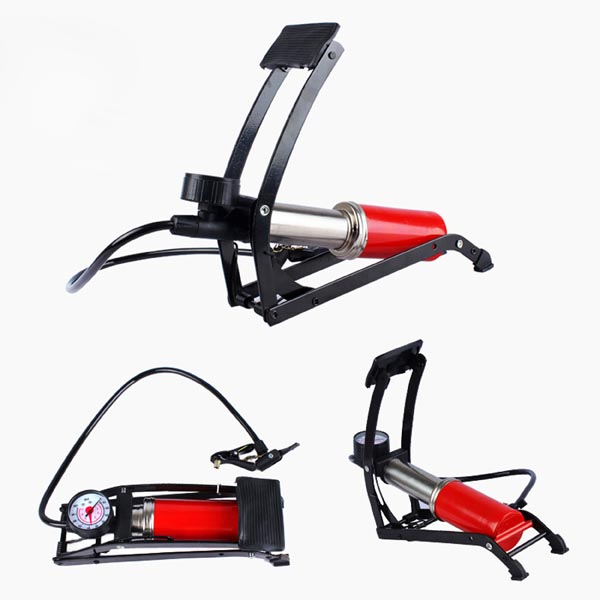 High Pressure Foot Pump for Car Tire / Bike Tyre, Sports, inflatable toys