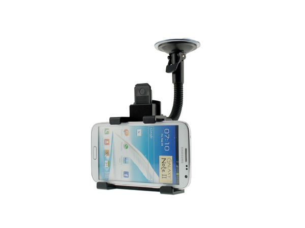 Universal Glass Windshield Mount for Phablet-sized Smartphones(Galaxy Note / Xperia Z / iPhone )