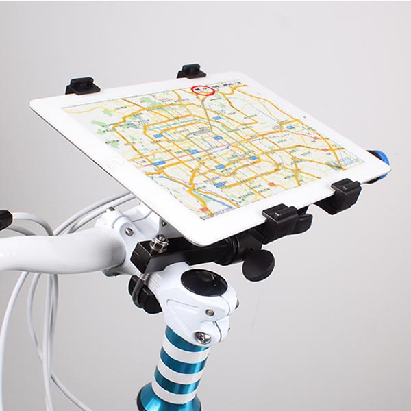 "Tablet / iPad Air / iPad Pro 9.7"" / Samsung Tablets Sport Bike Handlebar Mount / Bracket / Holder"