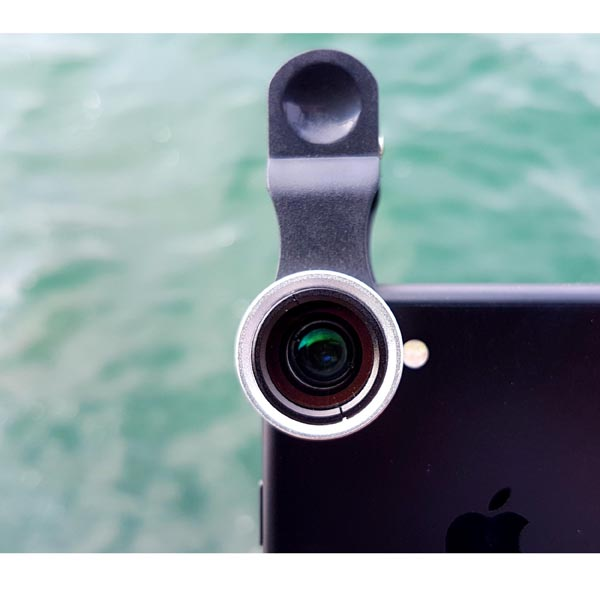 Universal Wide Angle (+ Macro) Lens for iPhone, iPad, Samsung Galaxy, HTC, LG, Sony Phones