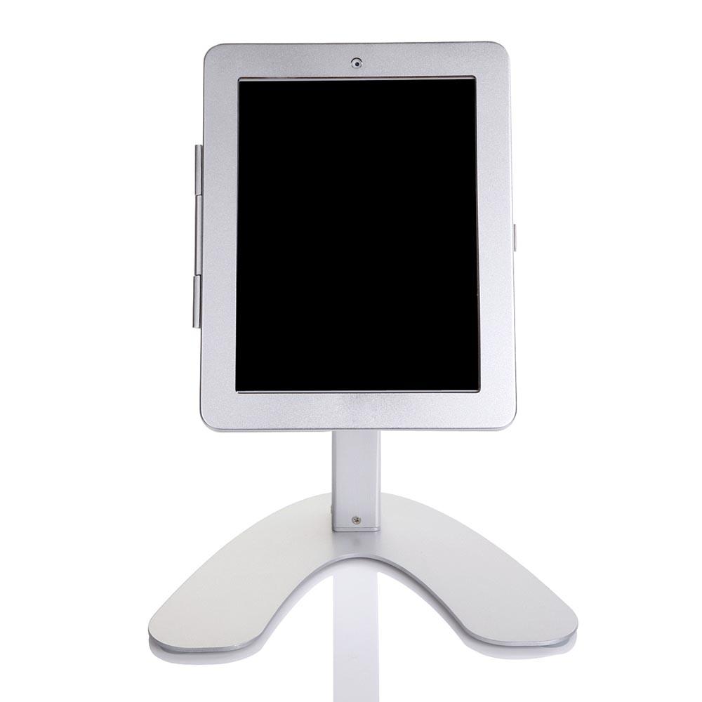 "Custom Heavy Duty Alloy Desktop Demonstration Stand / Public Display / Kiosk for iPad Pro 11.0"""