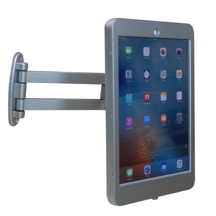 Wall Mount and Enclosure with Anti-Theft / Secure Lock for Apple iPad Pro 12.9""