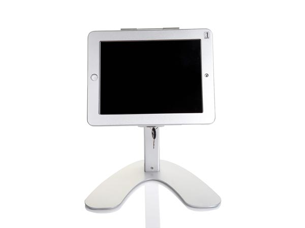 Heavy Duty Alloy Desktop / Table Demonstration Stand for iPad Pro / iPad 7 with Secure Lock
