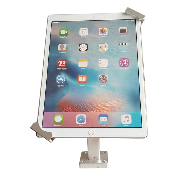Universal On-Wall Mount / Desktop Stand with Secure Lock (Arc Arm) for iPad Pro, iPad Air, Tablets
