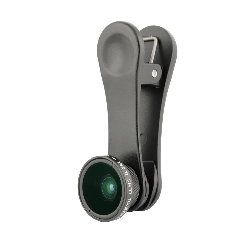 CL06Clip Fisheye Lens for iPhone / iPad / Smartphones / Tablets