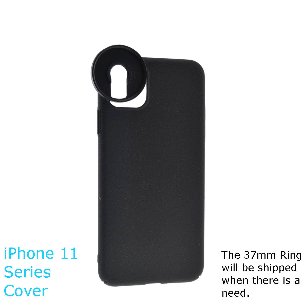 Custom iPhone case for Photography with 13.2mm add-on lenses