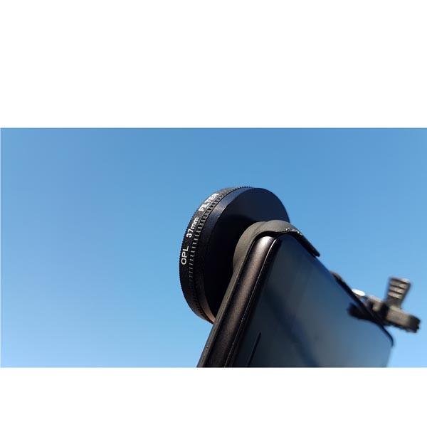 iPhone 8 Plus / iPhone 8 SLR 37mm CPL / Circular Polarizer Filter Camera Lens Set