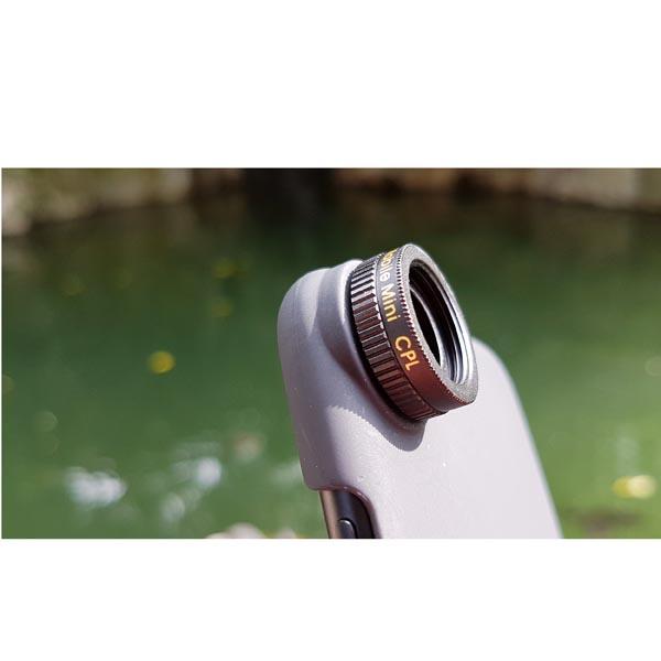 Circular Polarizer Lens Filter (CPL) for Apple iPhone 8 / Apple iPhone 8 Plus