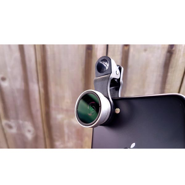 Universal Cloth-Clip Macro Lens for iPhone, iPad, Samsung Galaxy, HTC, LG, Sony Smart Phones