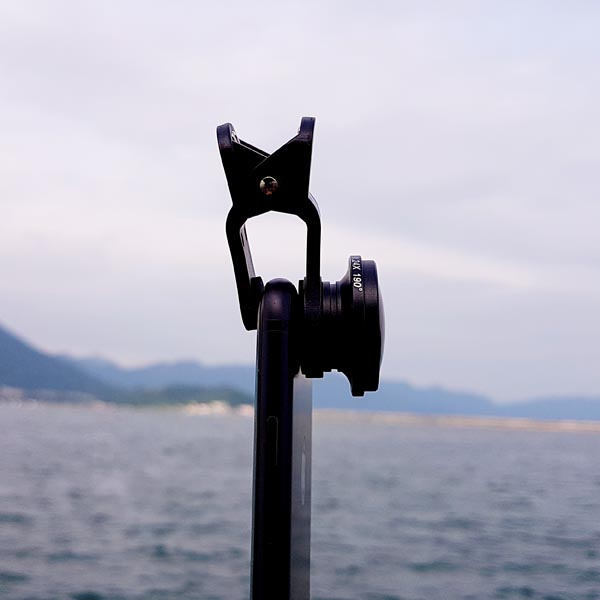 Universal Cloth-Clip Super Fisheye Lens for iPhone, iPad, Samsung Galaxy, HTC, LG, Sony Smart Phones