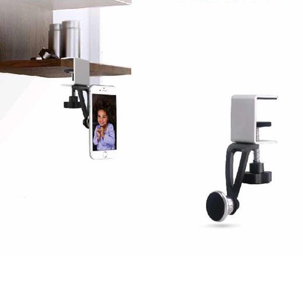 Quick Installation Cabinet / Desk / Bookcase / Garage Magnetic Holder for iPhones / Smartphones