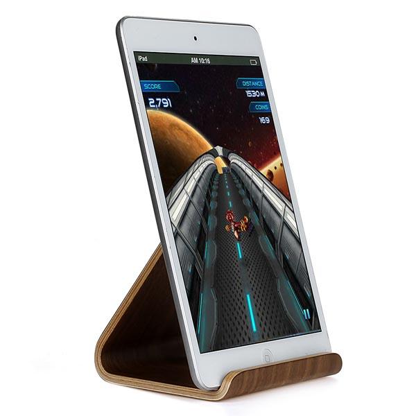 Natural Wood Made Stand for iPad / iPad Pro / Samsung Galaxy Tab / Galaxy Note Tablets