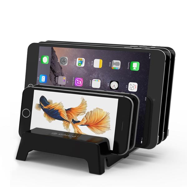 Multi-device Charging Station Dock for iPhone / iPad / Samsung / LG / HTC / Xiaomi Phone, Tablet