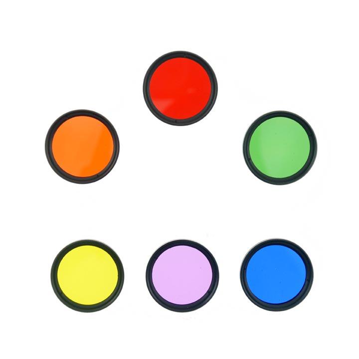 Cloth-Clip Pro 37mm Thread Grade 3 / #3 FULL Color Filter Lens Set (6 Lenses)