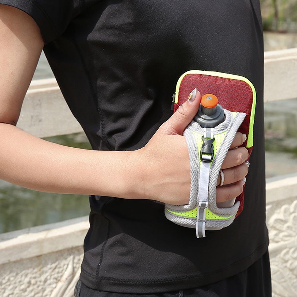 Multifunctional Water Repellent Hand Bag Pack for Cellphones & Bottle Holder for Running, Jogging