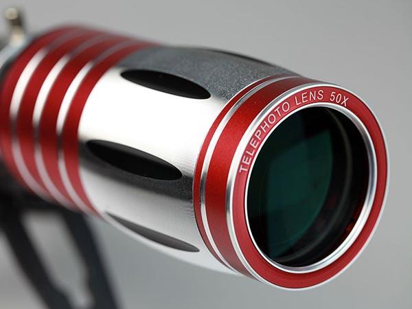 50x super long range telescope lens for apple iphone 5 5s