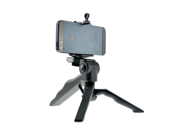2-in-1 Handheld Monopod / Robust Selfie Tripod for iPhone / Smartphone / DC / SLR Camera / VideoCam