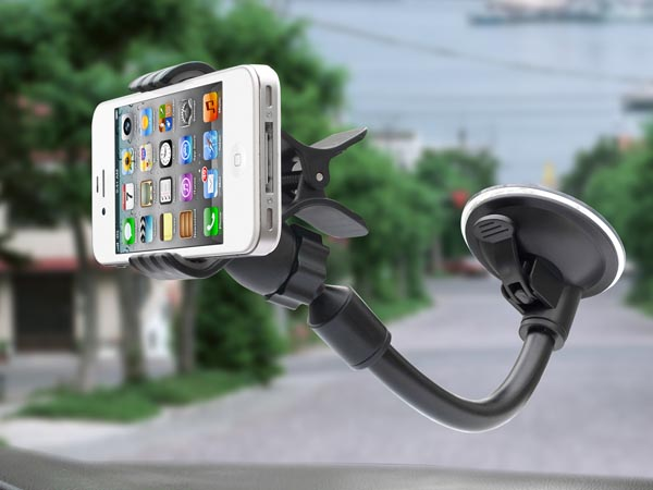 Universal Car Windshield / Dashboard Mount for Apple iPhones / Sony / Samsung / LG / HTC Smart Phone - Click Image to Close