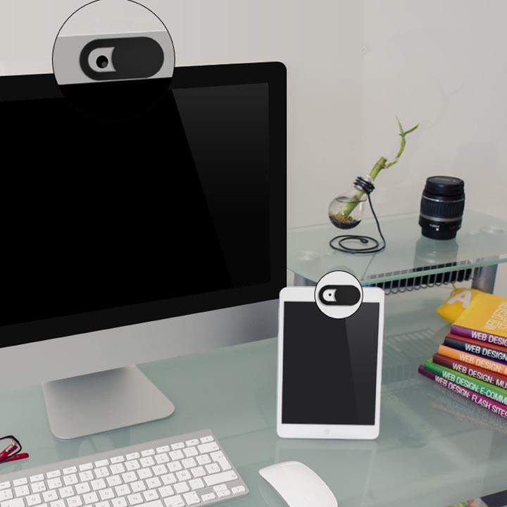 Ultra Thin Sliding Webcam Cover for Notebook, Macbook, Desktop, iPhone, iPad, Smartphones, Tablets