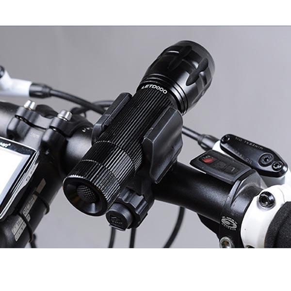 Quick Release Bike / Bicycle Flashlight Mount / Flashlight Clamp / Flashlight Holder, Bracket