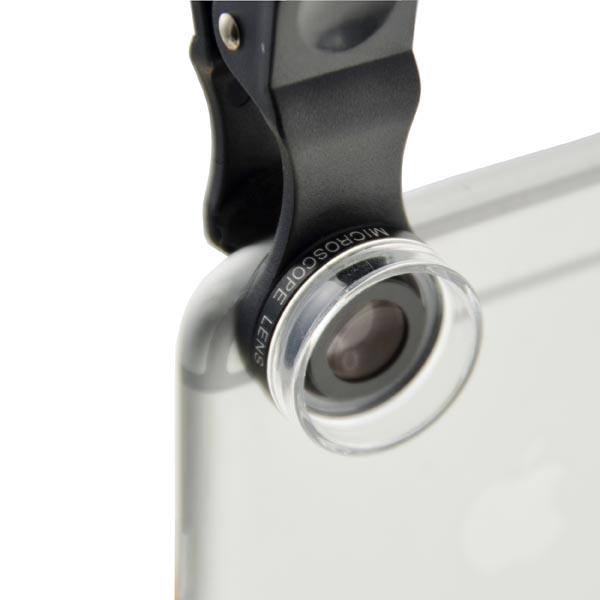 Cloth-Clip 30X Microscope Lens (Macro) for iPhone, iPad, Samsung Galaxy, HTC, LG, Sony Xperia Phones