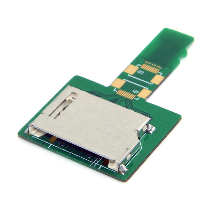 PCB Type Micro SD Card (TF / T-Flash) Memory Card to SD Card Adapter / Extender / Testing Tool