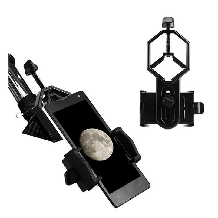 Alloy-Made Smart Phone / iPhone Support for Binoculars / Monocular / Astronomical Telescope