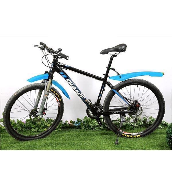 "3-piece Easy-install Snap-on Bike MudGuard / Bicycle Splash Guard / Fenders for 26"" MTB, Road Bikes"