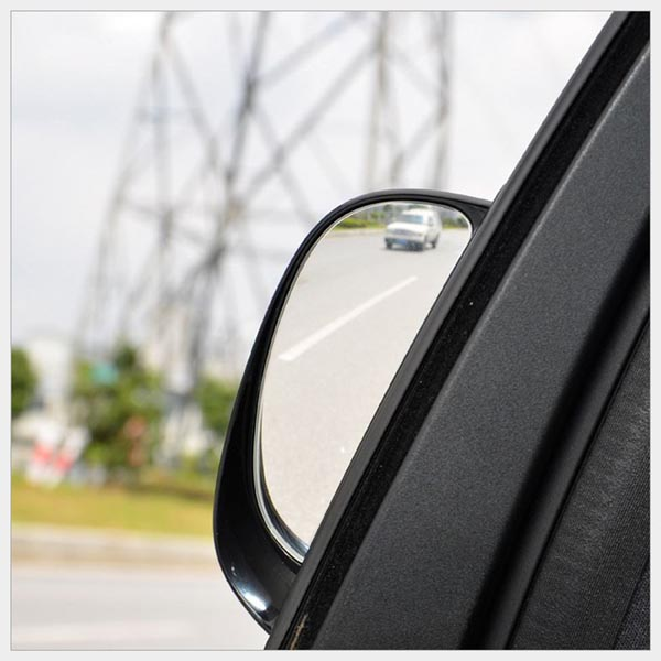 Car Wide Angle Blind Spot Elinimation Rear View Mirror for Rear Passengers