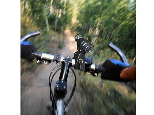 Bike Handlebar Mount / Holder / Clip for Microphone / Flashlight / Torch / Tube / Blackbox