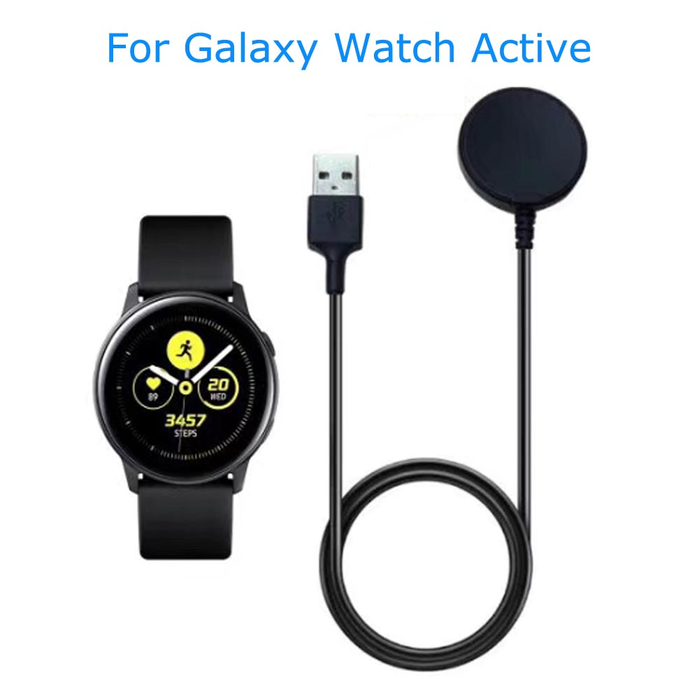 Replacement Wireless Charger Cradle Dock with USB Cable for Galaxy Watch Active Smartwatch